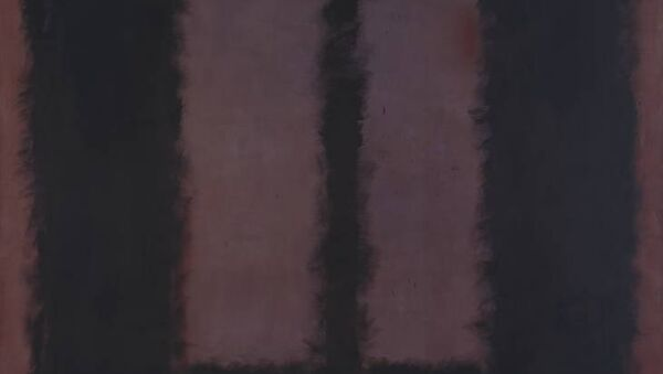 Холст Черное на коричневом (Black on Maroon) художника Марка Ротко