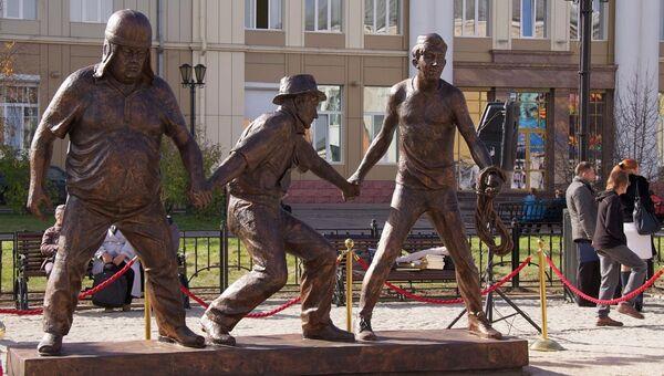Новые скульптуры Иркутска