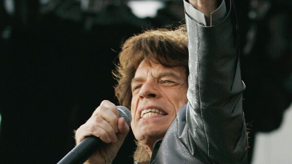 Вокалист группы «The Rolling Stones» Мик Джаггер
