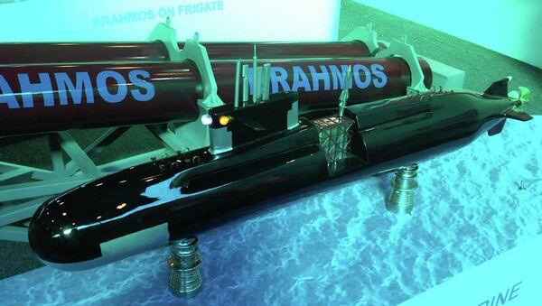 Cверхзвуковая ракета BrahMos, архивное фото