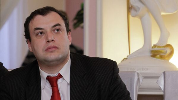 Глава Московского бюро, член президентского Совета по правам человека (СПЧ) Александр Брод. Архивное фото