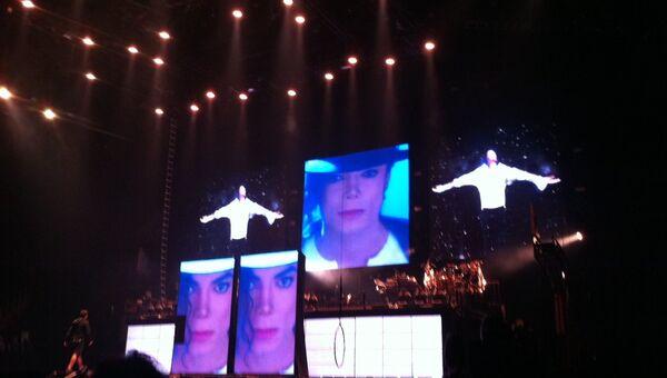 Флешмоб в честь Майкла Джексона
