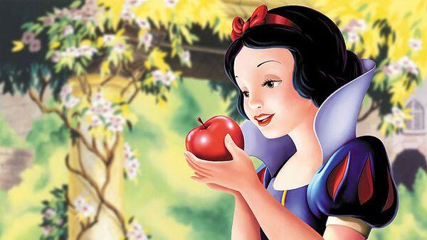 Кадр из мультфильма Белоснежка и семь гномов