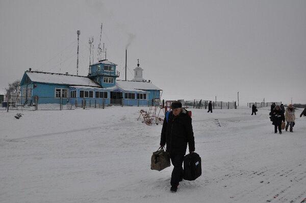 Аэропорт на Соловецких островах
