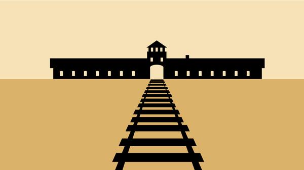 Крупнейшие лагеря смерти нацистской Германии
