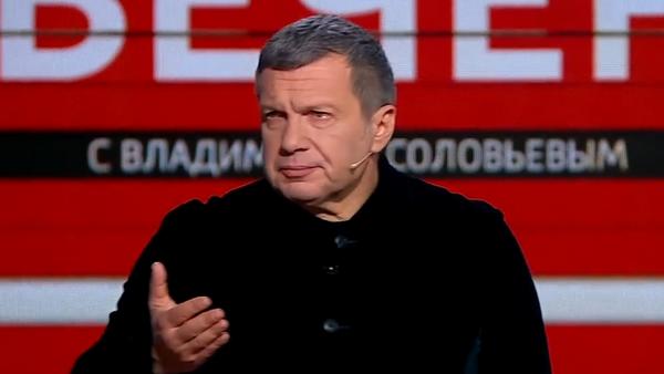 Соловьев заплакал во время эфира про Великую Отечественную войну. Скриншот видео