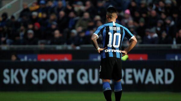 Нападающий итальянского футбольного клуба Интер Лаутаро Мартинес
