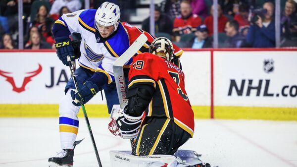 Матч НХЛ Сент-Луис Блюз - Калгари Флэймз