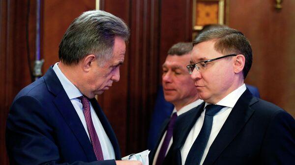 Премьер-министр РФ Д. Медведев провел заседание президиума Совета по стратегическому развитию и национальным проектам