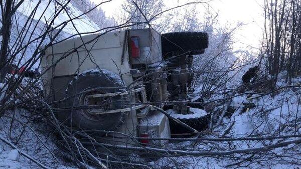 ДТП в Оймяконском районе Якутии. 30 января 2020