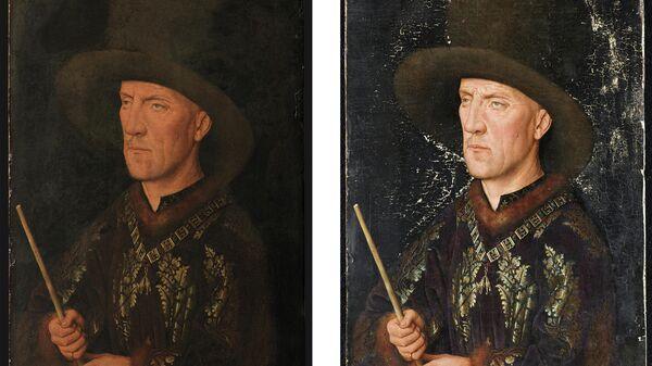 Ян ван Эйк. Портрет Бодуэна де Ланнуа, 1435