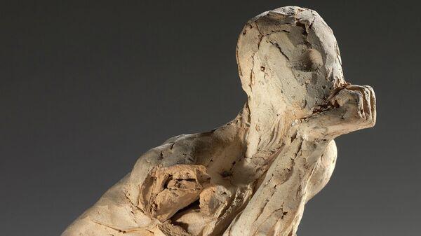 Огюст Роден. Подготовительный слепок к скульптуре Мыслитель