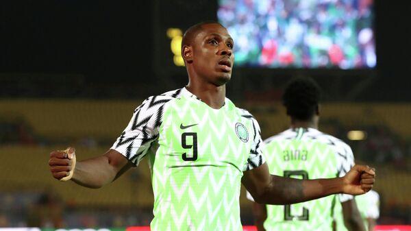 Нигерийский футболист Одион Игало