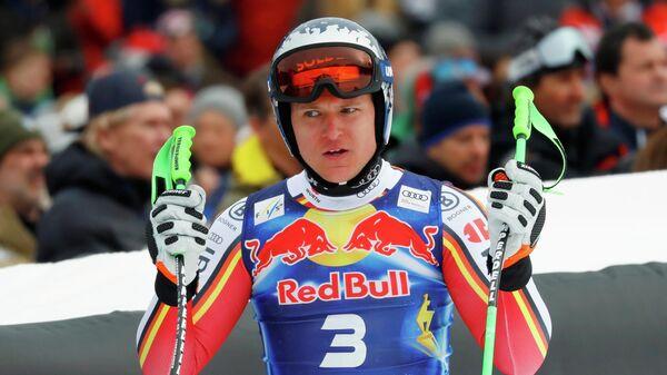 Немецкий горнолыжник Томас Дрессен