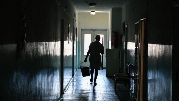 Сотрудник Пионерской участковой больницы села Пионерское Симферопольского района