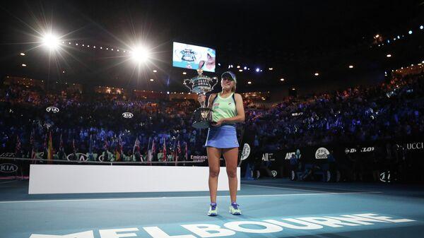 София Кенин после победы на Australian Open