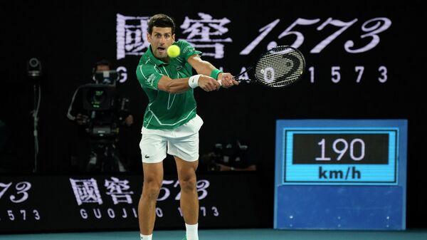 Теннисист Новак Джокович (Сербия)