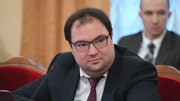 Министр цифрового развития, связи и массовых коммуникаций РФ Максут Шадаев