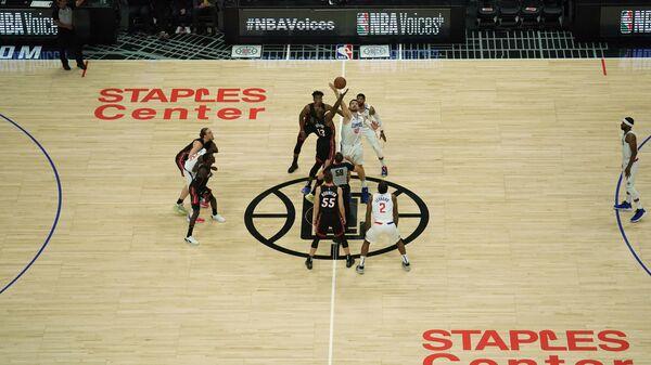 Матч НБА Лос-Анджелес Клипперс - Майами Хит