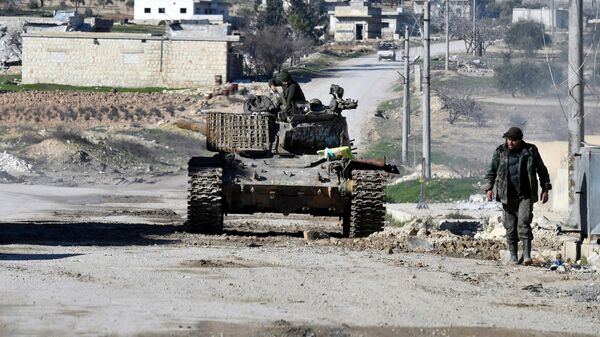 Ситуация на юго-востоке провинции Идлиб в Сирии