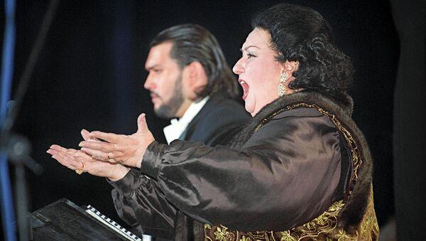 Оперная певица Кабалье. Архивное фото