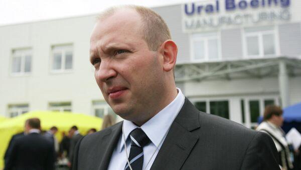 Генеральный директор корпорации ВСМПО-АВИСМА Михаил Воеводин. Архивное фото