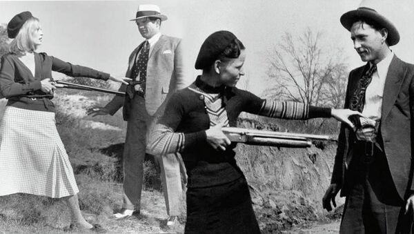 Грабители Бонни и Клайд