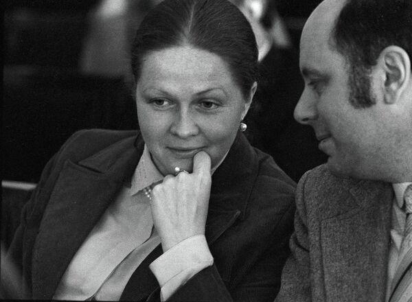 Наталья Гундарева и Аркадий Инин