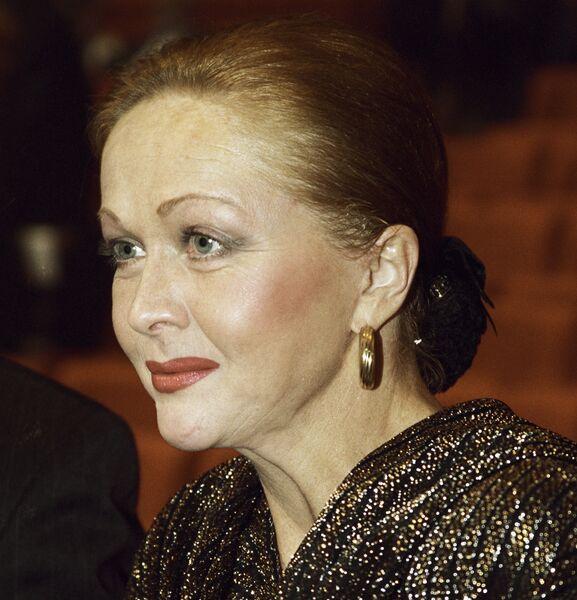 Актриса Наталья Гундарева