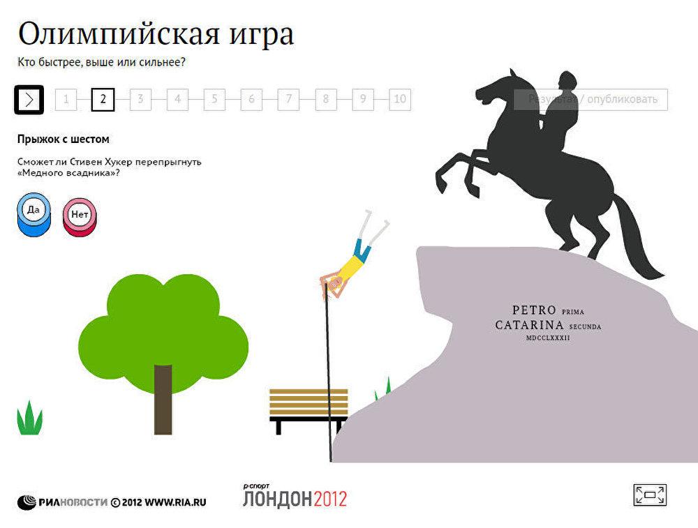 Олимпийская игра: кто быстрее, выше, сильнее