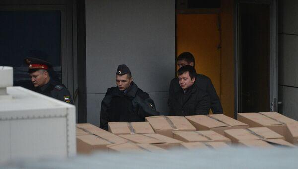 Помощник С.Удальцова Константин Лебедев задержан на двое суток