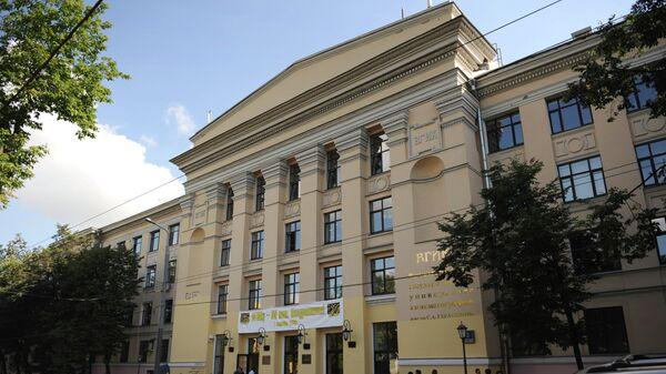Здание ВГИКа на улице Вильгельма Пика в Москве