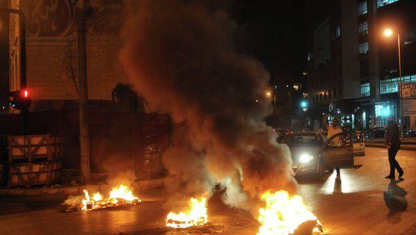 Протесты в Бейруте после теракта