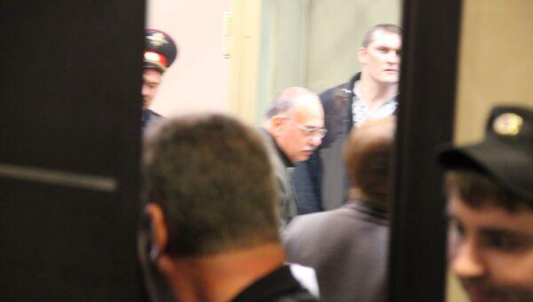Один из предполагаемых членов банды Сергея Цапка на скамье подсудимых в Краснодарском краевом суде