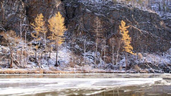 Байкальский заповедник, река Темник