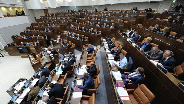 Заседание Совета Федерации, архивное фото