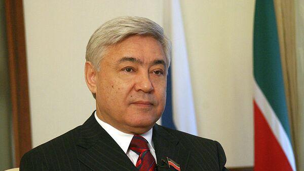 Председатель Государственного Совета Татарстана Фарид Мухаметшин