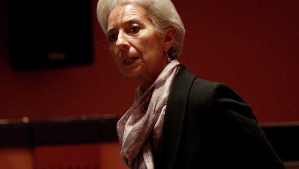 Кристин Лагард на G20 в Мехико