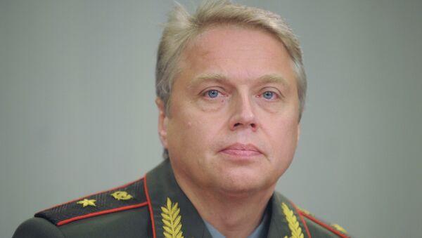 Представитель Главной военной прокуратуры генерал-майор юстиции Александр Никитин