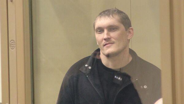 Подсудимый по делу банды Цапковские Владимир Алексеев. Архивное фото