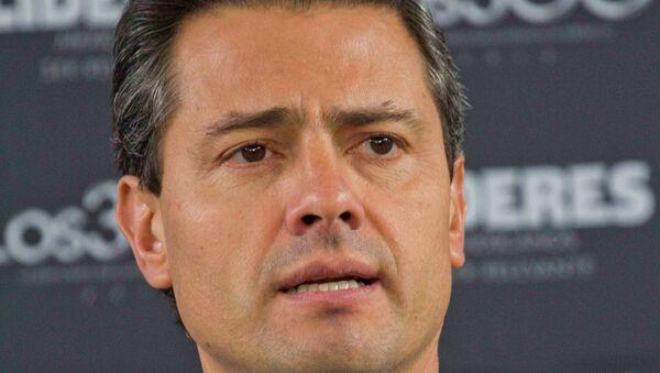 Президент Мексики Энрике Пенья Ньето, архивное фото.