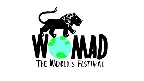 Логотип фестиваля WOMAD (World of Music, Arts and Dance)