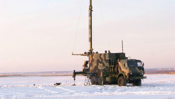 Полевой этап государственных испытаний новейшей цифровой аппаратуры связи шестого поколения на Черлакском полигоне в Омской области
