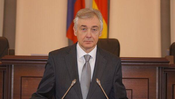 Председатель Парламента Республики Северная Осетия-Алания Алексей Мачнев