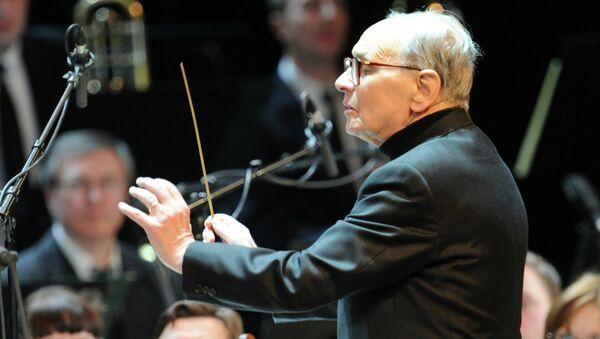 Концерт композитора и дирижера Эннио Морриконе. Архивное фото