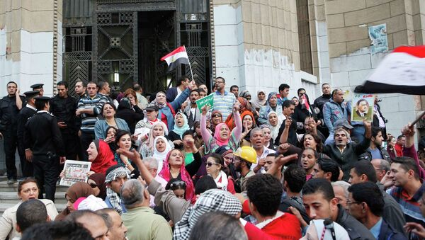 Протесты против Конституционной декларации в Египте