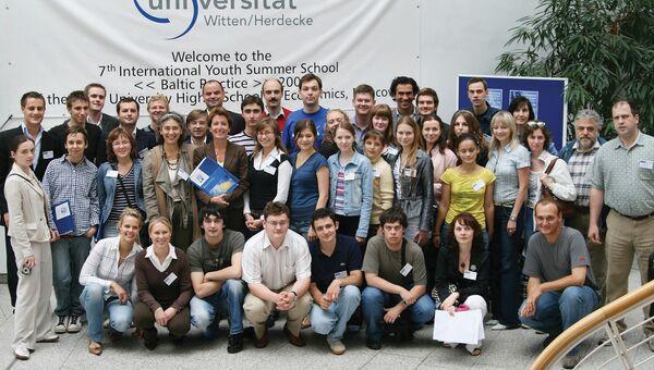 7-я Международная летняя школа ГУ-ВШЭ «Практика на Балтике» в Виттен-Хердеке, Германия