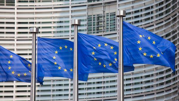 Флаги Евросоюза. Архив