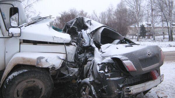 ДТП в Нижегородской области, в котором погиб Заместитель председателя правительства Ульяновской области Николай Доронин