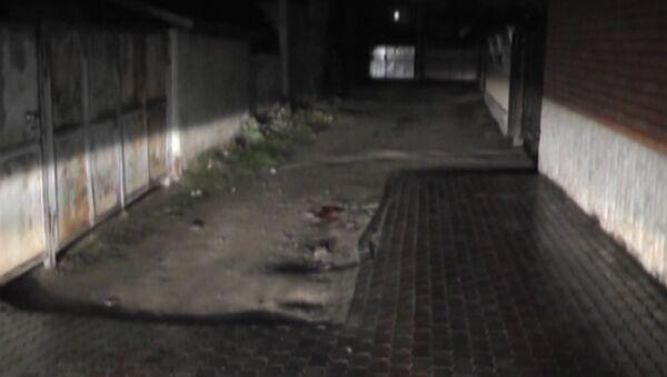 Место убийства журналиста Казбека Геккиева в Нальчике